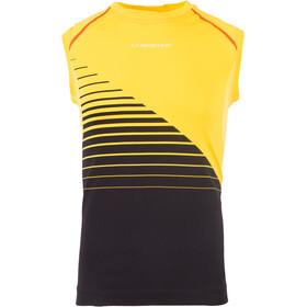 La Sportiva Stream Tank Men, czarny/żółty